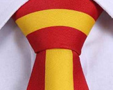Mens Silk Tie With Spanish Flair