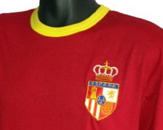 Retro Spain 1970s Football T Shirt
