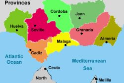 Earthquake hits Andalucia