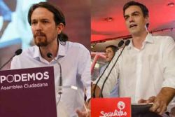 Podemos would overtake PSOE at new election