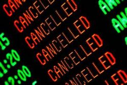 Cancelled flights UK - Spain due to France ATC action
