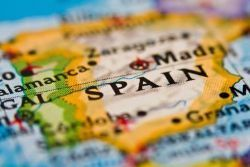 Population of Spain in decline