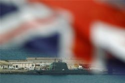 Damaged UK Nuclear Submarine Leaves Gibraltar