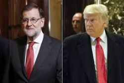 Trump, Spanish PM Rajoy due to hold phone conversation on Tuesday night