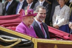 QE2 honors King Felipe and Letizia with a banquet at Buckingham palace
