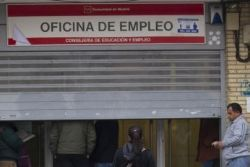 Unemployment in Spain falls below four million for first time since 2009