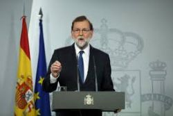 Spanish PM, in Catalonia, calls for big turnout at December election