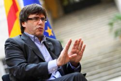 Detained Catalan government members say they accept Madrid's control