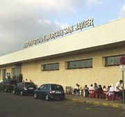 Who will pay compensation for the closure of San Javier Airport ?
