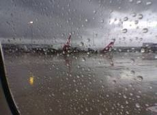 Rain forces diversion of flights from Valencia