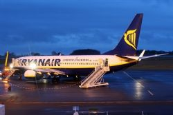 Ryanair's Dec traffic down after aircraft grounded