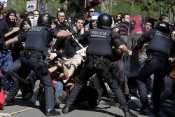 Human Rights Organisation Criticises Spanish Police