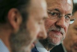Rajoy and Rubalcaba meet for lunch