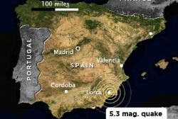 The Lorca Earthquakes : One year and counting