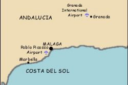 Costa del Sol cheapest holiday location in Spain