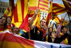 Spanish Day Marred By Catalan Violence
