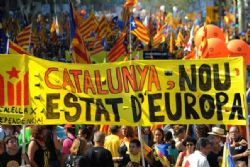 Catalans want referendum on independence