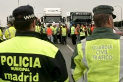 Spain's Police Officers Protest Against Cuts