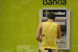 Bankia shows recovery signs after record loss