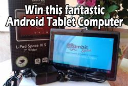 Tumbit Gives Opportunity To WIN a Fantastic Android Tablet Computer