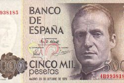 Almost 1.7 Billion Euros in Pesetas in Circulation
