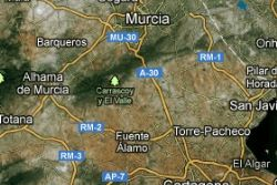 Earthquake Close to Corvera & Paramount Murcia