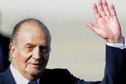 King Juan Carlos Makes First Official Visit Abroad After Op