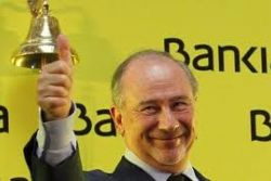 Spain makes small profit on first Bankia stake sale