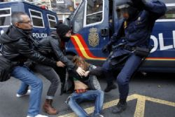 Austerity Protests Across Spain Continue
