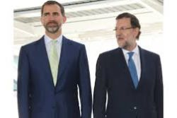 King Felipe VI holds first meeting with PM Rajoy