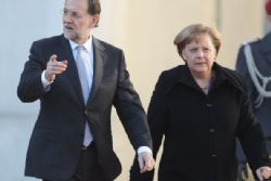 Merkel supports Spain on issue of Catalan Independece