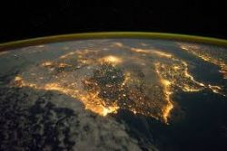 NASA image reveals light pollution over Spain